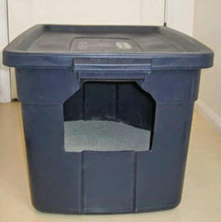 How To Make DIY Travel Litter Boxes